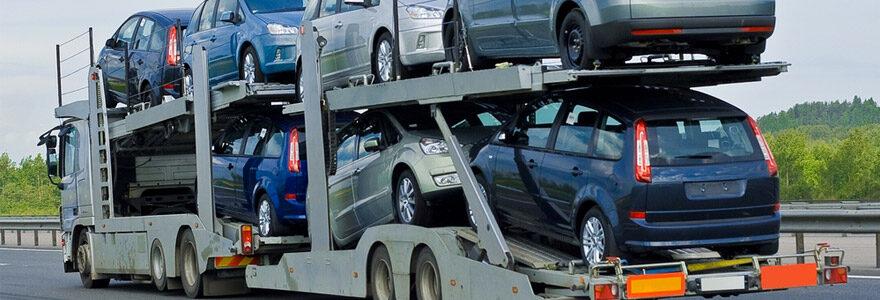 expédier son véhicule lors d'un déménagement