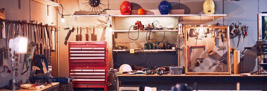 Meubles de rangement de garage